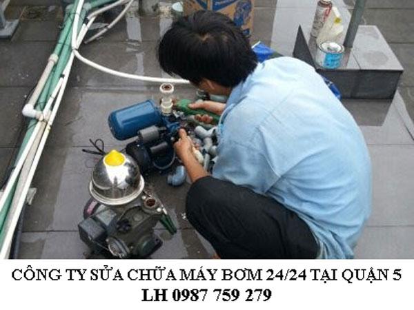 Công ty sửa chữa máy bơm 24/24 tại quận 5