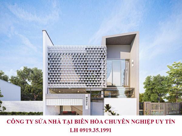 Công ty sửa nhà tại Biên Hòa chuyên nghiệp uy tín