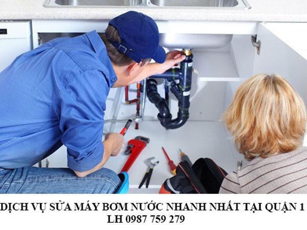 Dịch vụ sửa chữa máy bơm nước nhanh nhất tại quận 1