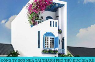 Công ty sơn nhà tại TP Thủ Đức giá rẻ