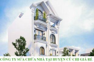 Công ty sửa chữa nhà tại huyện Củ CHi