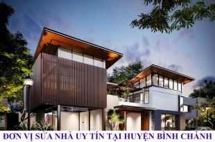 Đơn vị sửa nhà uy tín tại huyện Bình Chánh