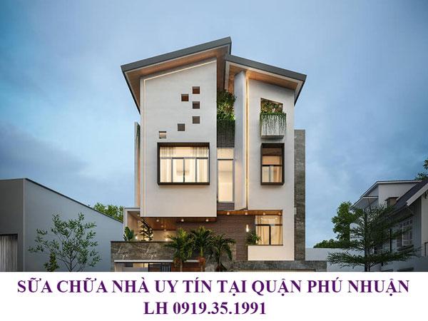 Sửa chữa nhà uy tín tại quận Tân Phú