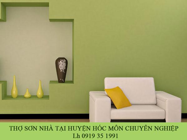 Thợ sơn nhà tại huyện hóc môn chuyên nghiệp