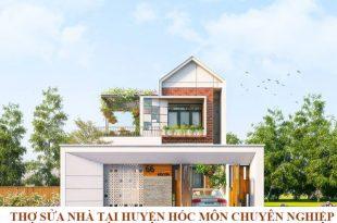 Sửa nhà tại huyện Hóc Môn chuyên nghiệp