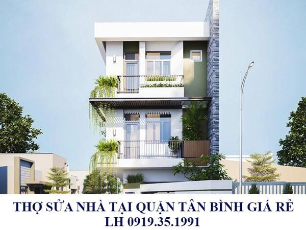 Thợ sửa nhà tại quận Tân Bình giá rẻ