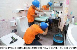 Công ty sửa chữa điện nước tại nhà ở huyện Củ Chi uy tín