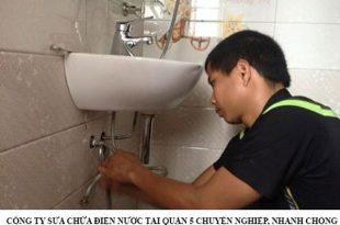 Công ty sửa chữa điện nước tại quận 5 chuyên nghiệp, nhanh chóng.