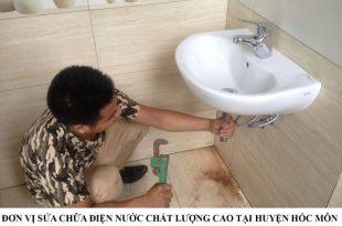 Đơn vị sửa chữa điện nước chất lượng cao tại huyện Hóc Môn