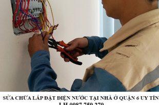 Đơn vị sửa chữa điện nước uy tín nhất tại quận Phú Nhuận