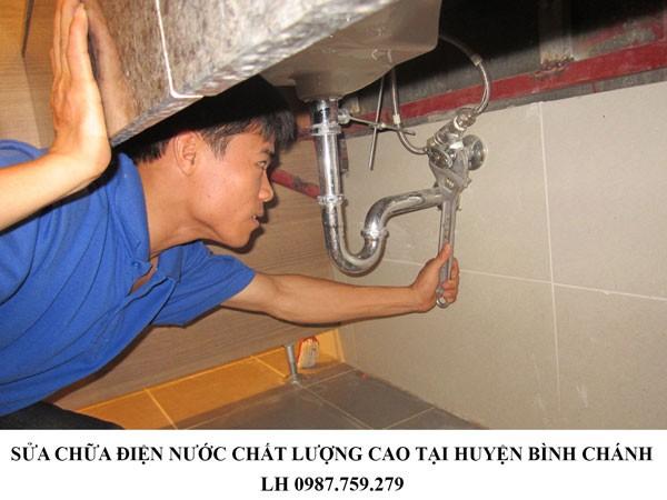 Sửa chữa điện nước chất lượng cao tại huyện Bình Chánh