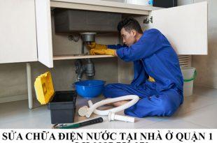Sửa chữa điện nước tại nhà ở quận 1