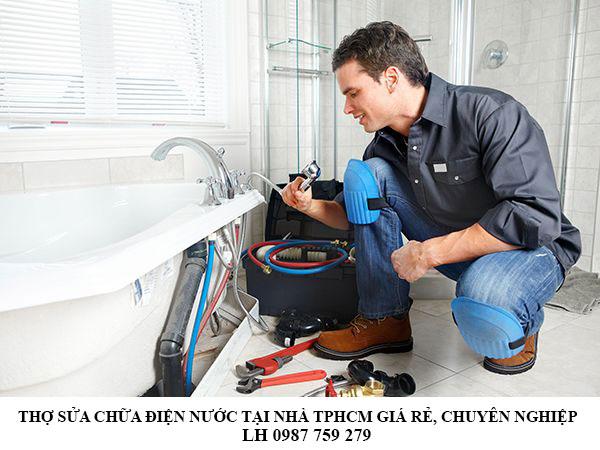 Thợ sửa chữa điện nước tại nhà TPHCM giá rẻ, chuyên nghiệp