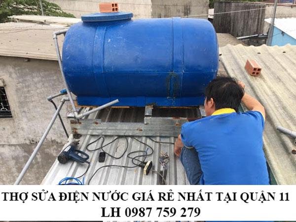 Thợ sửa chữa điện nước giá rẻ nhất tại quận 11