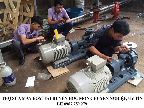 Thợ sửa máy bơm tại huyện Hóc Môn chuyên nghiệp, uy tín