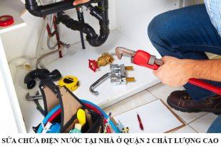 Sửa chữa điện nước tại nhà ở quận 2 chất lượng
